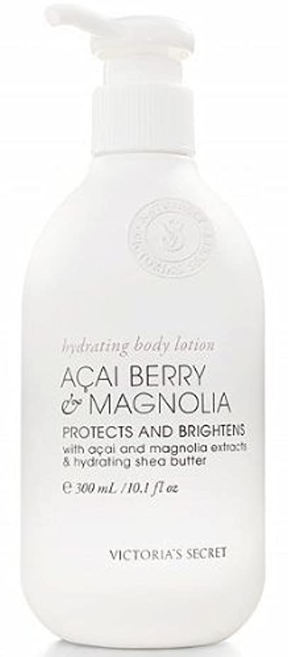 誘う注釈ウェイトレスVictoria's Secret Naturally Acai Berry Magnolia Body Lotion by Victoria's Secret