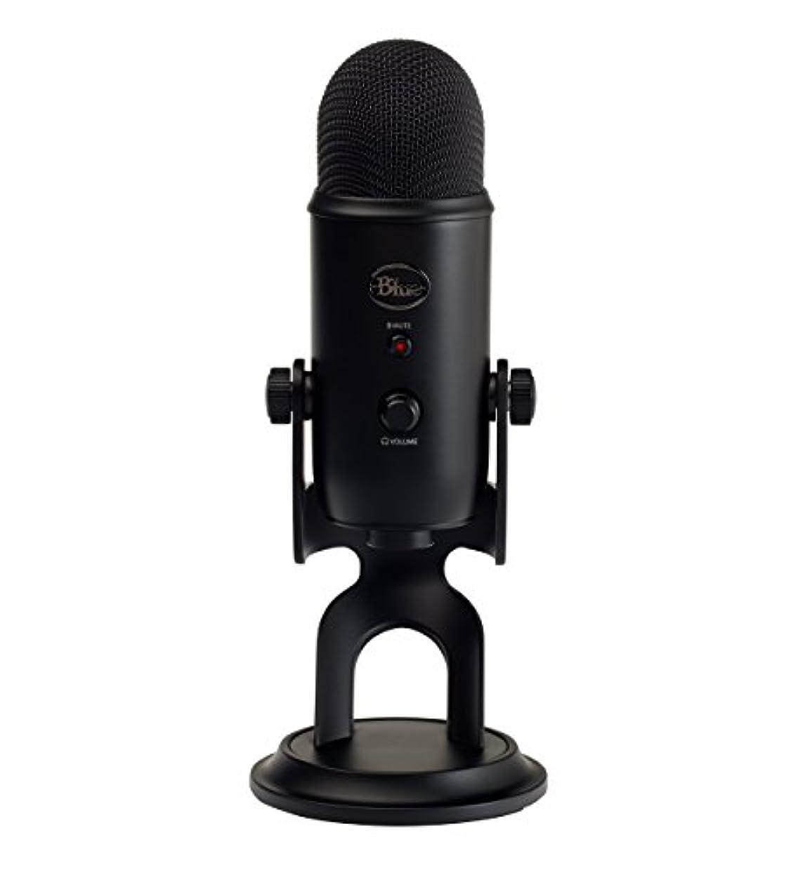 メルボルン時系列大破Blue Microphones Yeti USBマイク【日本正規代理店品?メーカー保証2年】ブラック 2070  指向性4モード