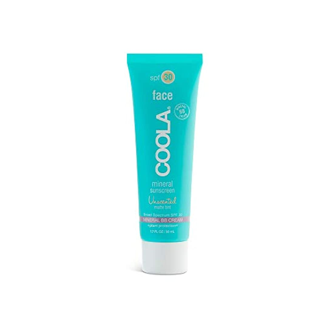 ライトニング民兵胚芽Coola Face Spf 30 Mineral Sunscreen Unscented Matte Tint (並行輸入品)