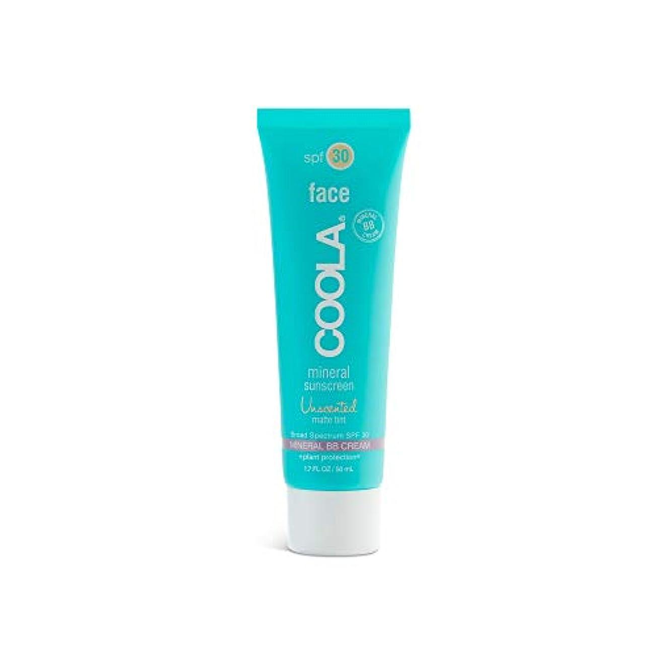類人猿安心させるうそつきCoola Face Spf 30 Mineral Sunscreen Unscented Matte Tint (並行輸入品)