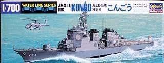 ハセガワ 1/700 海上自衛隊 護衛艦 こんごう イージス艦 #009