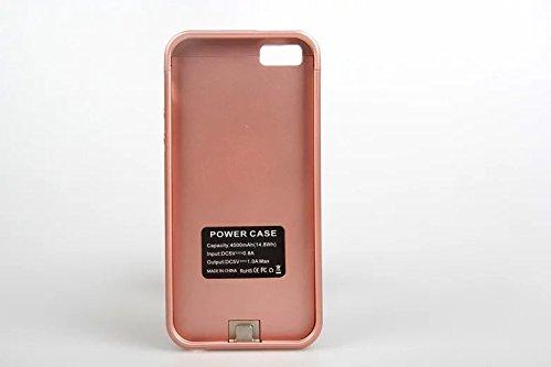 Eyoube 4000mah iPhone5 5S 専用 バッテリーケース 一体型 4000mAh バッテリー内蔵ケース 充電ケースモバイルバッテリー スタンド機能付き
