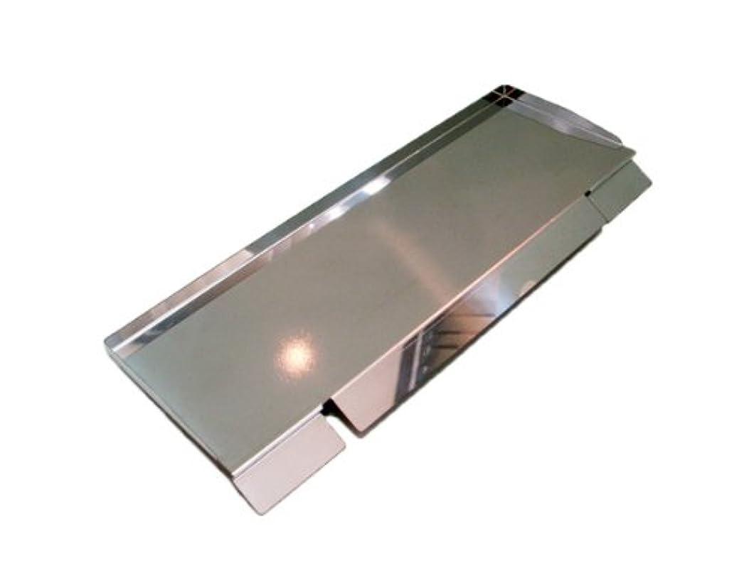 数学拍手サイトサイドトレー【M】 極厚バーベキュー鉄板用 板厚4.5mm対応 100mm x 300mm