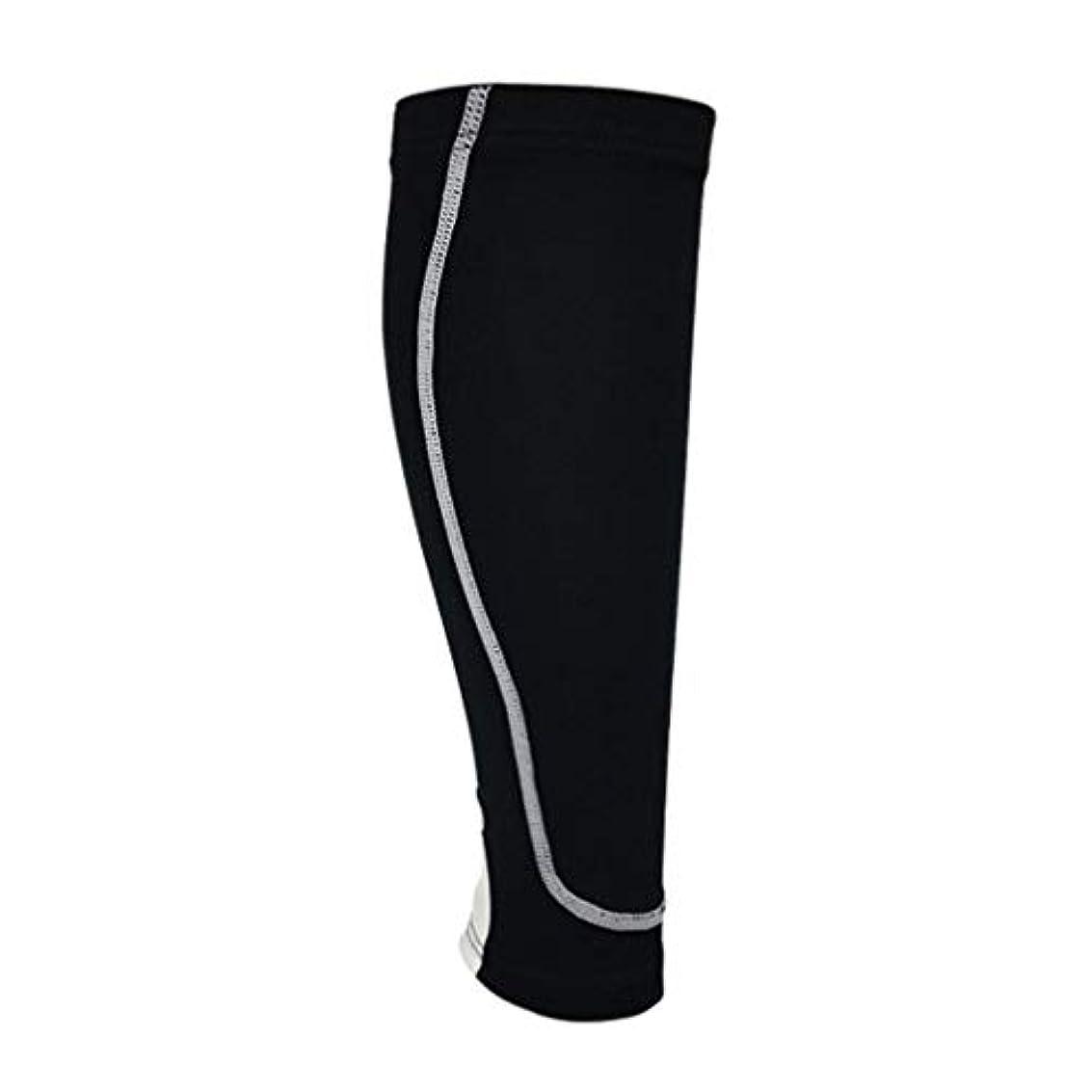 オーク護衛一貫性のない伸縮性がある足はスポーツのための足の袖の換気の圧縮の足のパッドを暖めます-Rustle666
