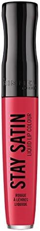 Rimmel London Stay Satin Liquid Lip Colour, 600 Scrunchie, 5.5ml