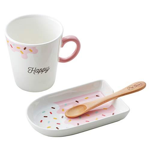 マグカップ お皿 セット かわいい おしゃれ ポップアイスキャンディ マグ&プレート