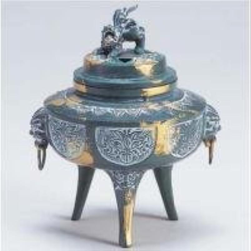 フロンティアツイン虎85-05 香炉 駒型(かん付菖蒲地紋)