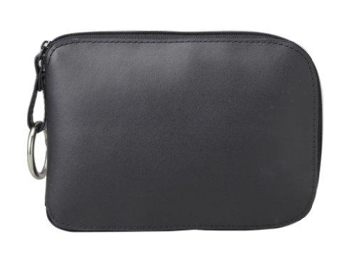 トルネ エコバッグ 折りたたみ コンパクト収納 黒 約44×39×12cm