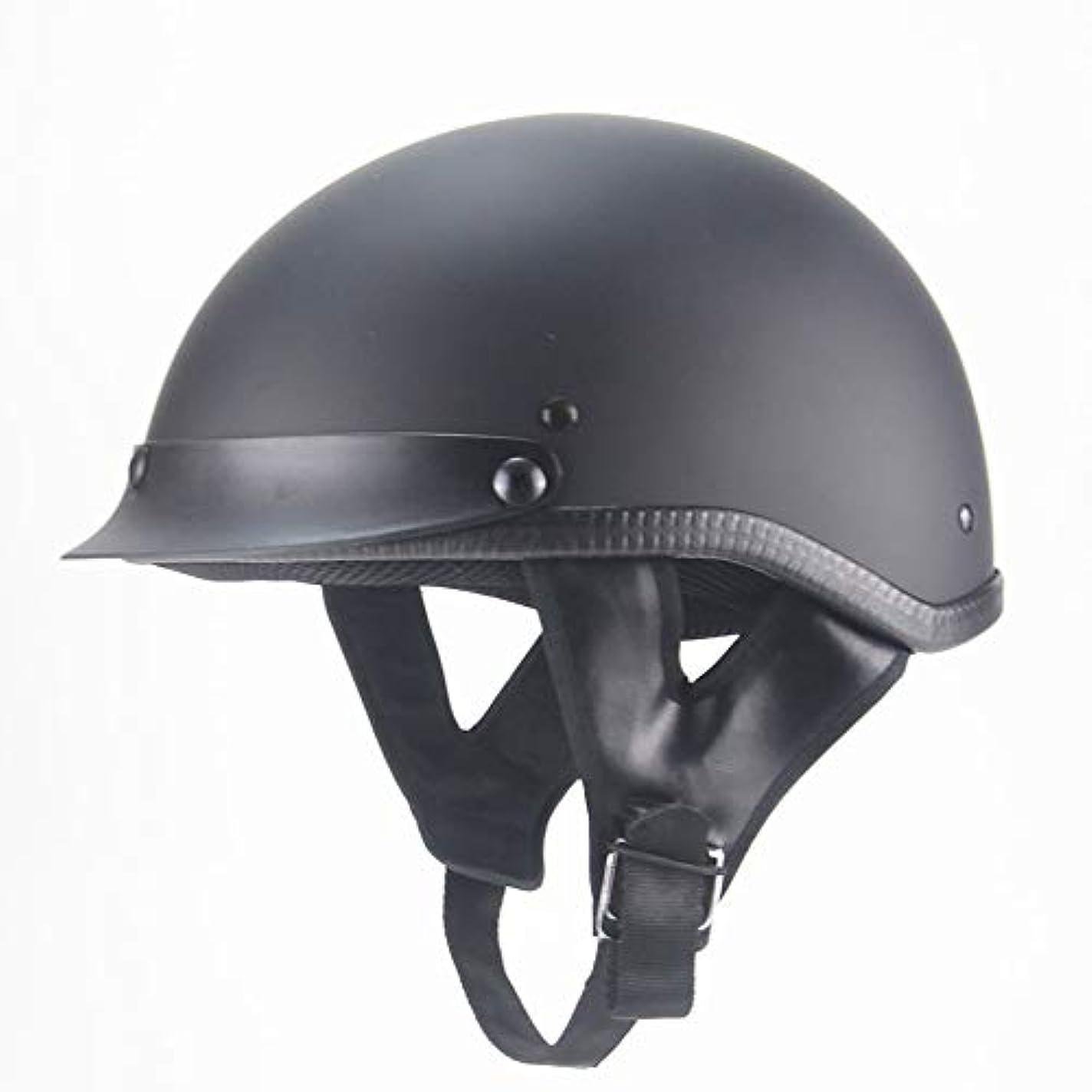 通路ウェイドラグ夏のヘルメット、オートバイパワースポーツヘルメット、屋外大人ハーフフェイスヘルメットモトクロスオフロードダートバイクオートバイ、(M L XL XLL)