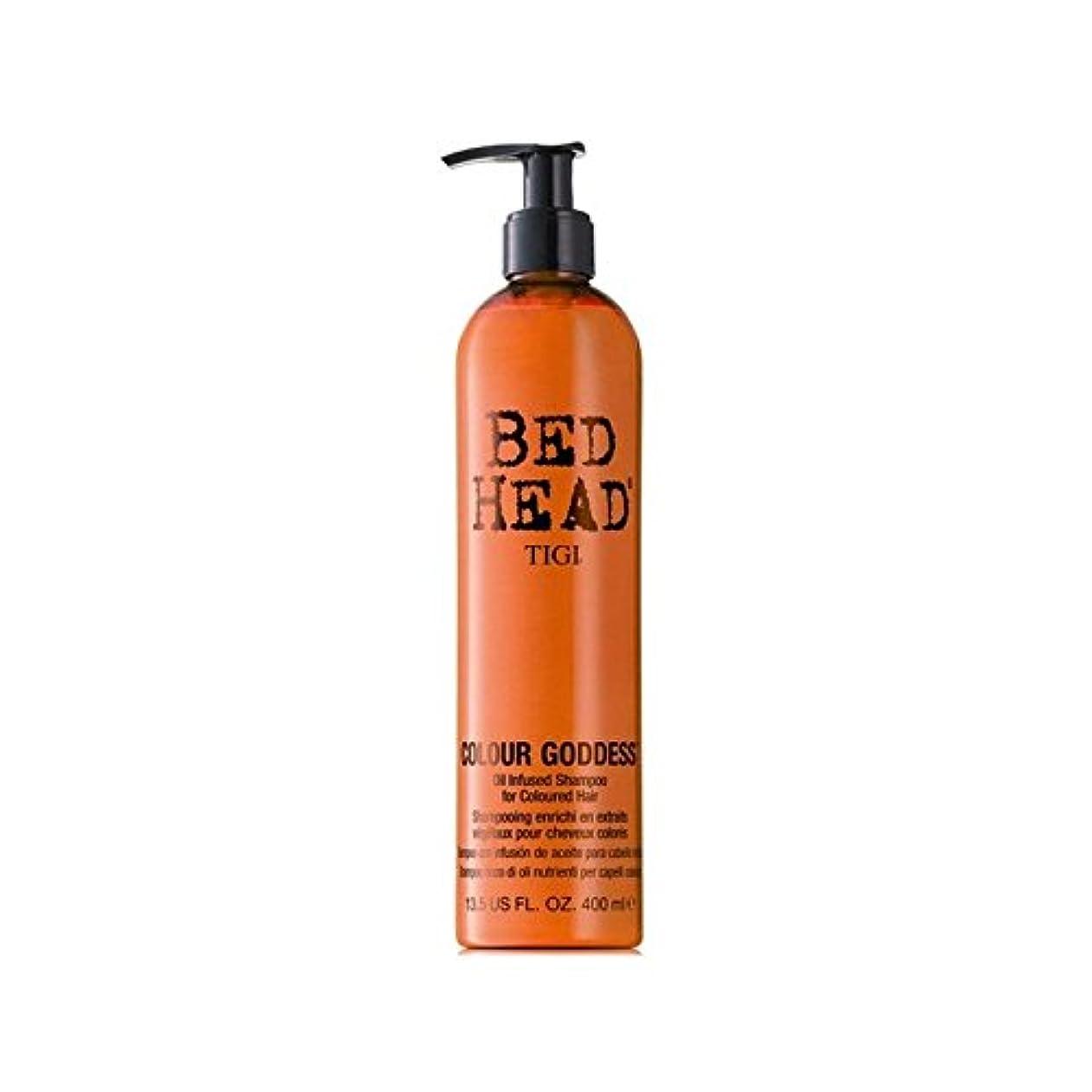 全員熟読する迷彩Tigi Bed Head Colour Goddess Shampoo (400ml) - ティジーベッドヘッドカラー女神シャンプー(400ミリリットル) [並行輸入品]
