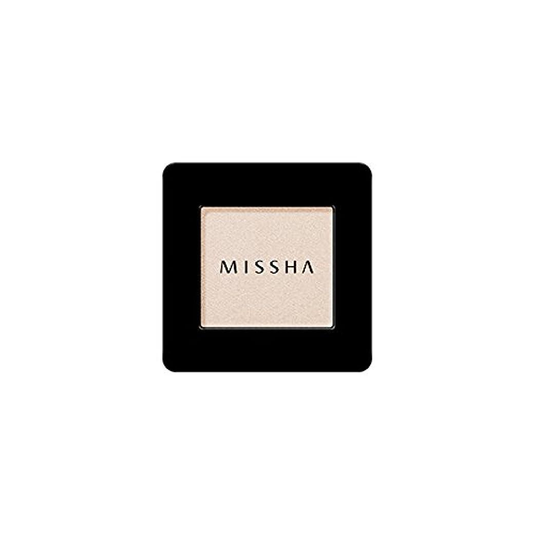 朝温室風邪をひくMISSHA Modern Shadow [SHIMMER] 1.8g (#SBE01 Santa Barbara)/ミシャ モダン シャドウ [シマー] 1.8g (#SBE01 Santa Barbara)