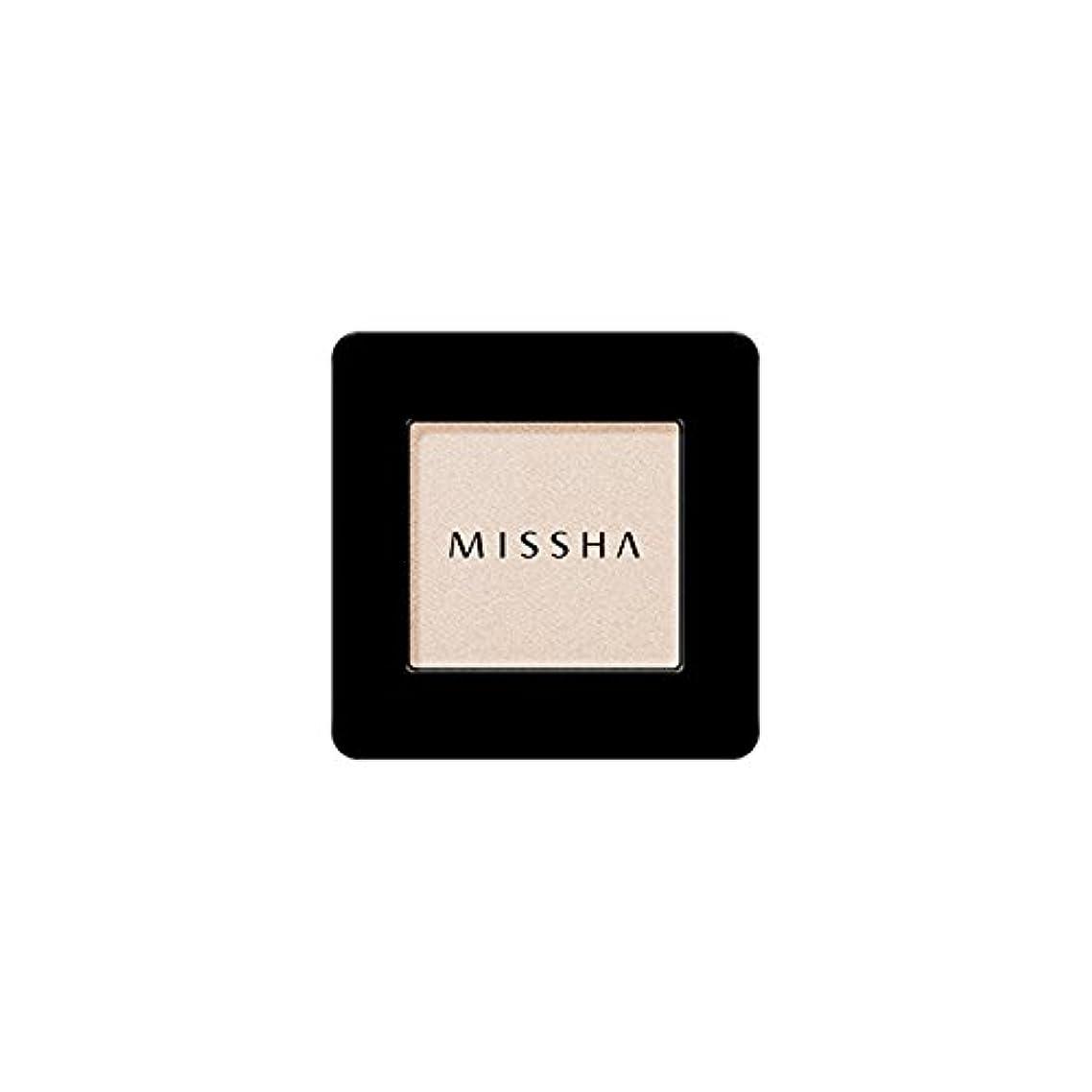 グラス入手します看板MISSHA Modern Shadow [SHIMMER] 1.8g (#SBE01 Santa Barbara)/ミシャ モダン シャドウ [シマー] 1.8g (#SBE01 Santa Barbara)
