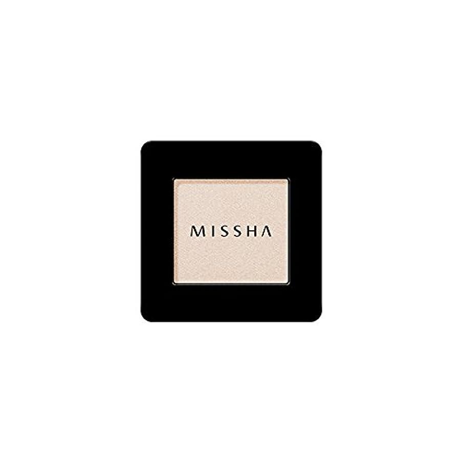 汚い販売計画寄り添うMISSHA Modern Shadow [SHIMMER] 1.8g (#SBE01 Santa Barbara)/ミシャ モダン シャドウ [シマー] 1.8g (#SBE01 Santa Barbara)