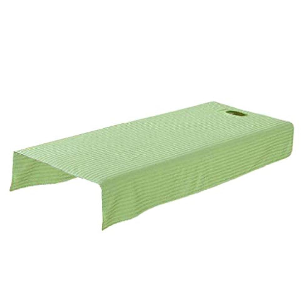 中にについてステッチマッサージベッドカバー マッサージテーブル カバー 有孔 スパベッドカバー 全2サイズ - 120x190cm