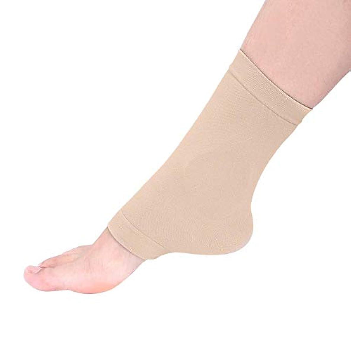 失礼なポンプ土曜日足のひびの入った靴下、集中的な通気性のひびの入ったかかとの足首の袖の保湿の靴下修理ひびの入ったかかとの角質除去