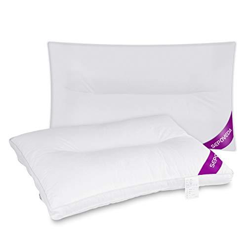 Sepoveda 枕 安眠 人気 肩こり 低刺激性 健康枕 快眠 丸洗い 可能 横向き 頭痛改善 頚椎サポート 首・頭・肩をやさしく支える 通気性抜群 抗菌