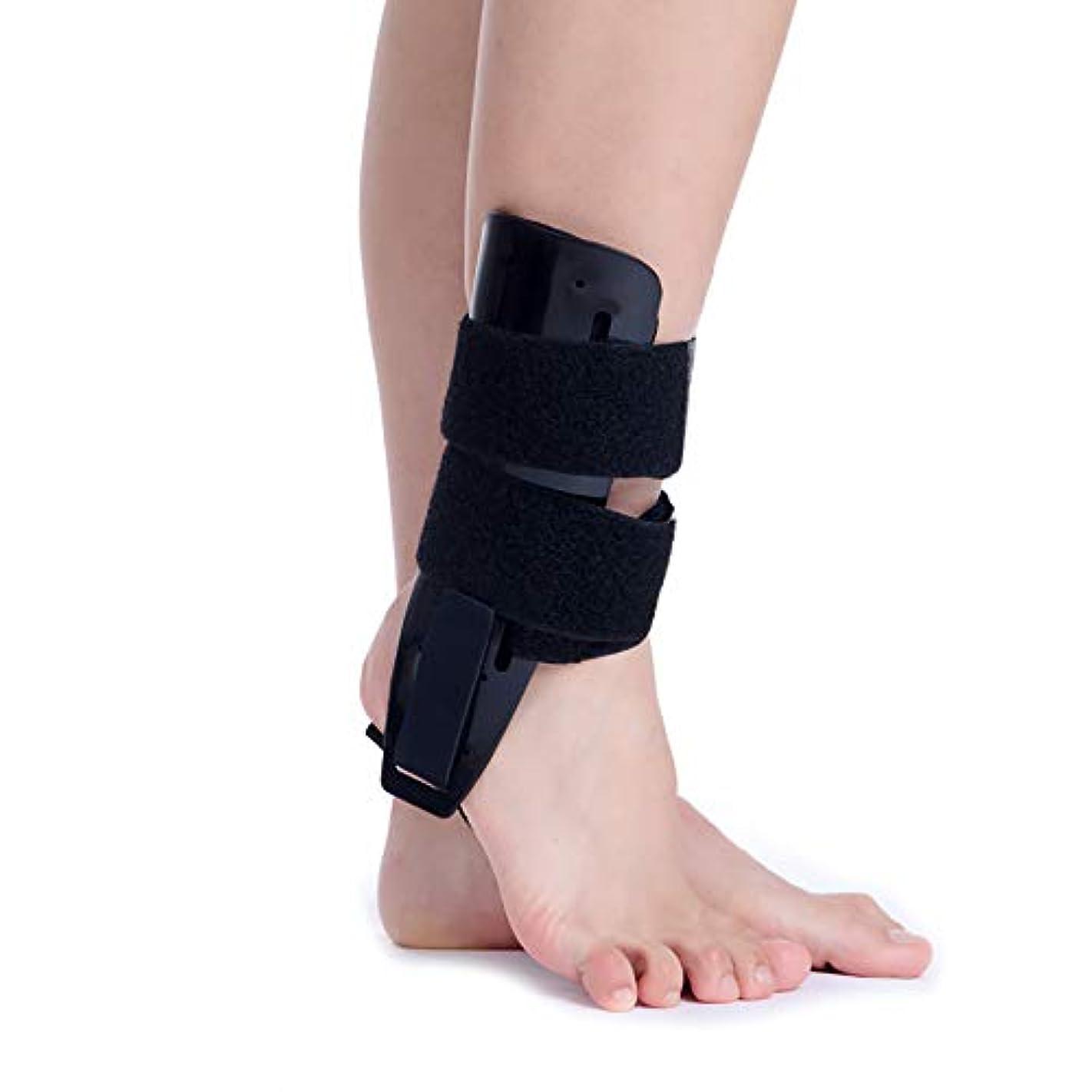試してみるスナック受け皿足底筋膜炎足副木、ドロップフット、かかとの痛みを軽減するための足の袖と背部の副木のアーチ矯正装具ブレース
