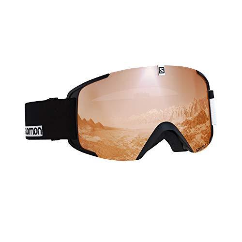 サロモン(SALOMON) スキー スノーボード ゴーグル ユニセックス XVIEW ACCESS Black-White/T.Orange L40518600