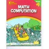 Kenny Kangaroo Math Computation Workbook Grade 4 by Kenny Kangaroo