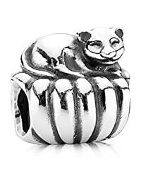 PANDORA Charms Sterling Silver Original Cozy Cat Charm