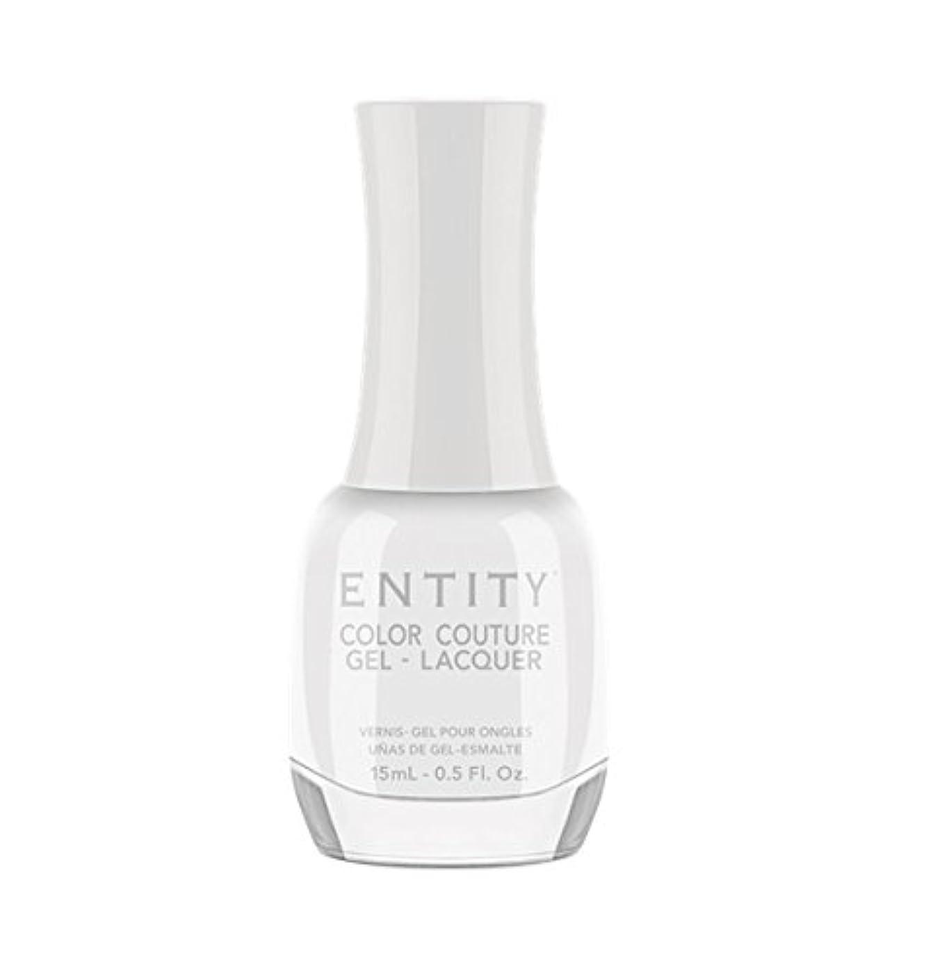 帰するプラグありふれたEntity Color Couture Gel-Lacquer - White Light - 15 ml/0.5 oz