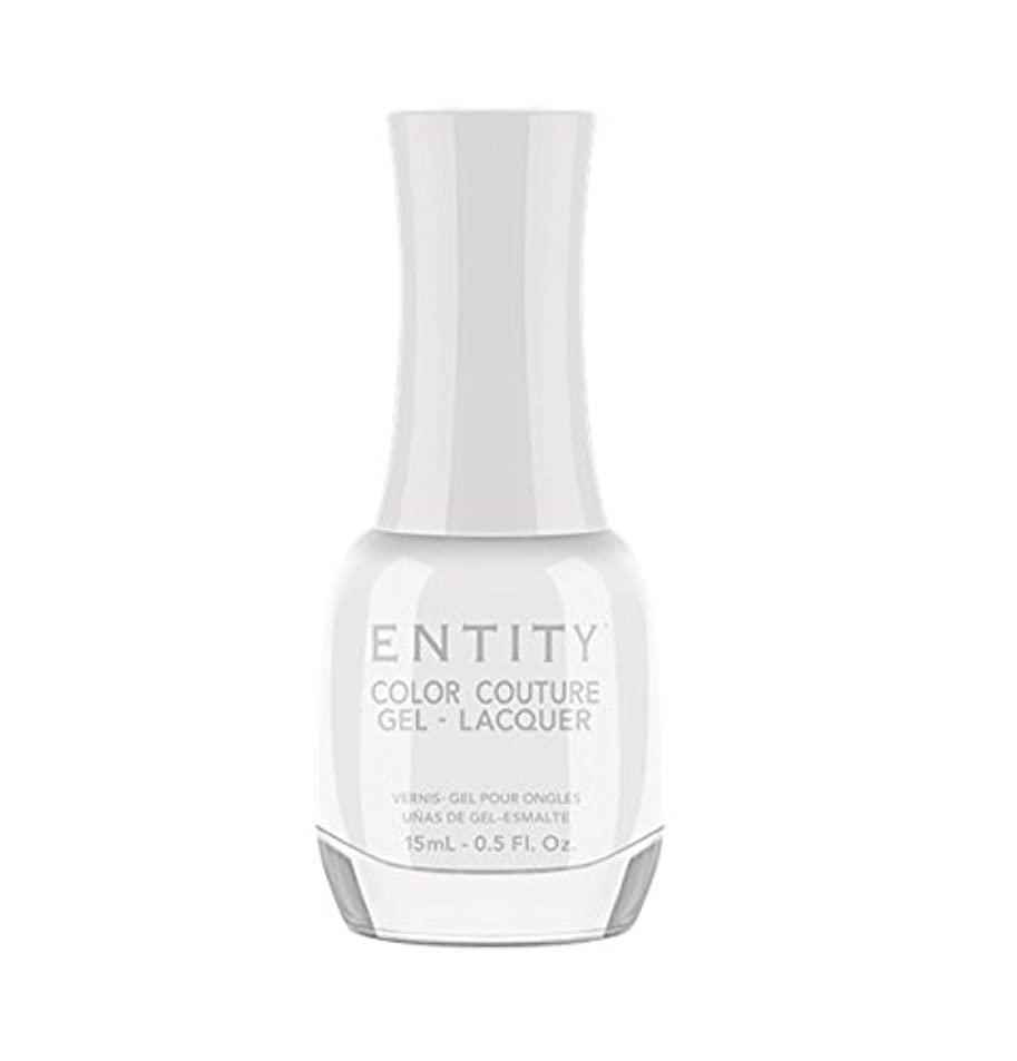 果てしないスキャン疑いEntity Color Couture Gel-Lacquer - White Light - 15 ml/0.5 oz