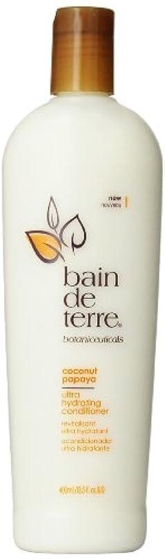傷つきやすい伝説腐食するBain De Terre Coconut Papaya Conditioner, 13.5 Fluid Ounce by Bain de Terre