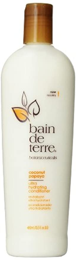 そこ実現可能傷跡Bain De Terre Coconut Papaya Conditioner, 13.5 Fluid Ounce by Bain de Terre