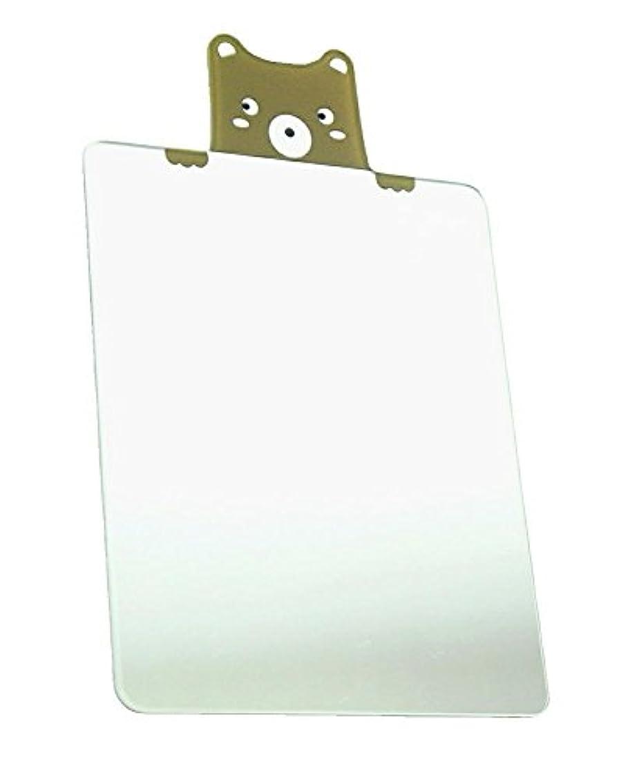 知覚できる模索粉砕する鏡 ミラー 割れない スマホ 財布 名刺サイズ (スクエアベア)