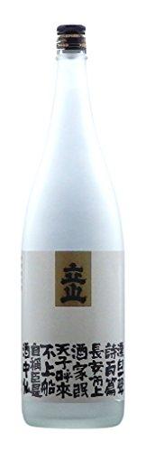 立山酒造 立山 特別純米酒 愛山酒中仙 1800ml [富山県]