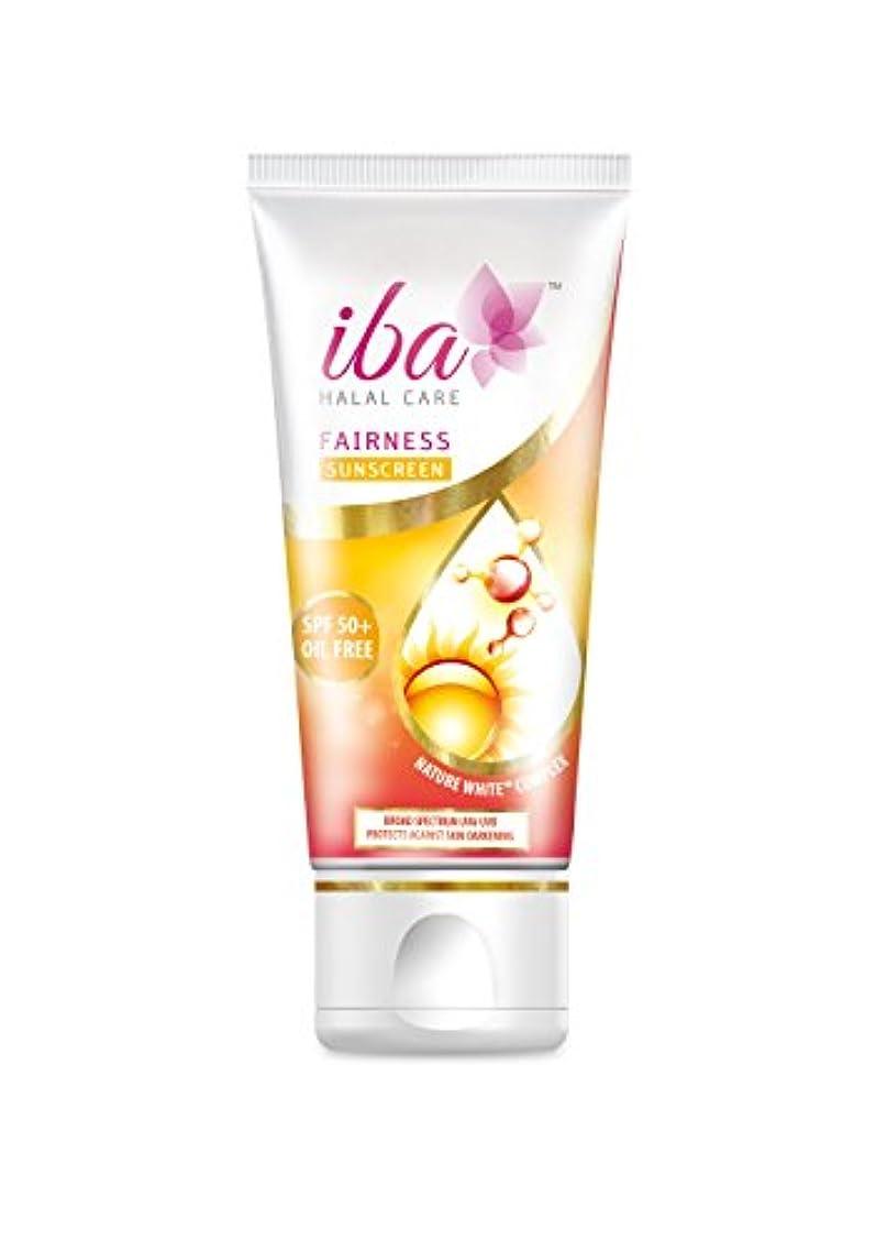 標準弓創始者Iba Halal Care Fairness Sunscreen SPF 50, 60g