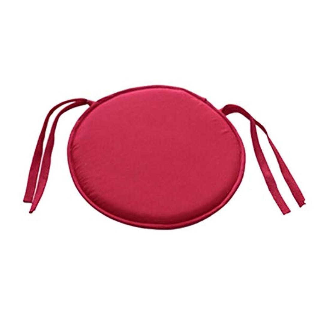 抜本的なチロ前者LIFE ホット販売ラウンドチェアクッション屋内ポップパティオオフィスチェアシートパッドネクタイスクエアガーデンキッチンダイニングクッション クッション 椅子