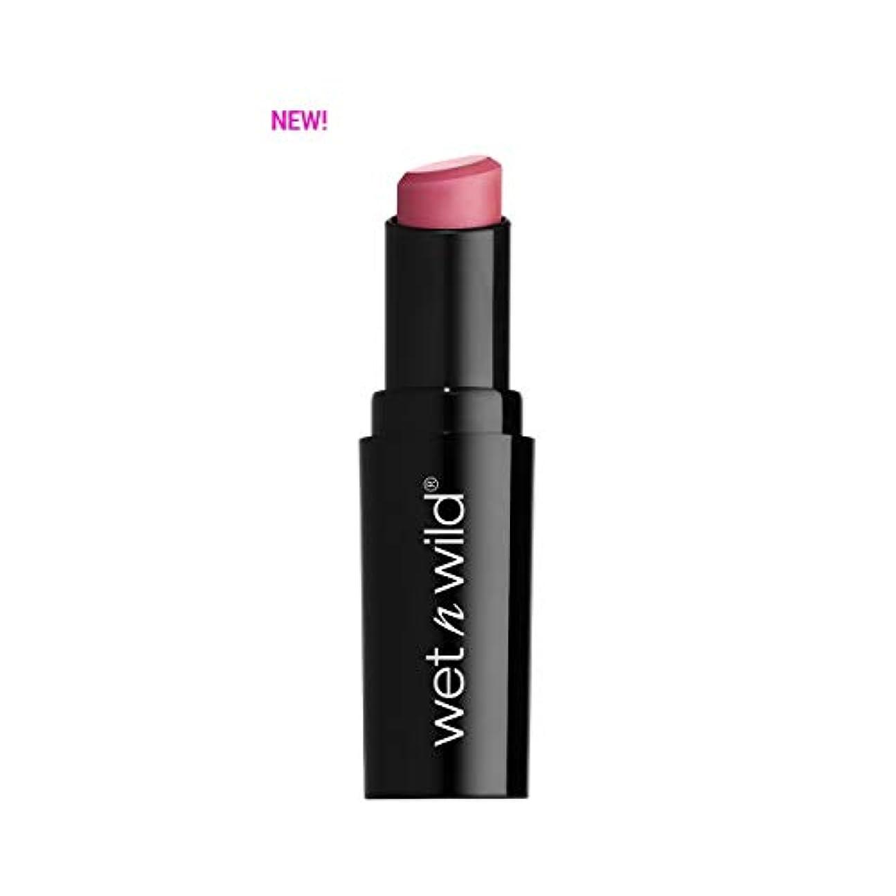 公然と構造的獣(3 Pack) WET N WILD Mega Last Matte Lip Cover - Rose the Matter (並行輸入品)
