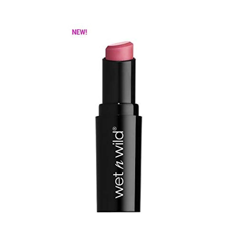 手綱効率発掘する(3 Pack) WET N WILD Mega Last Matte Lip Cover - Rose the Matter (並行輸入品)