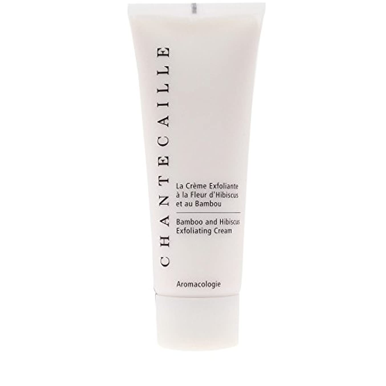 Chantecaille Bamboo and Hibiscus Exfoliating Cream 75ml (Pack of 6) - シャンテカイユ竹とハイビスカス角質除去クリーム75ミリリットル x6 [並行輸入品]