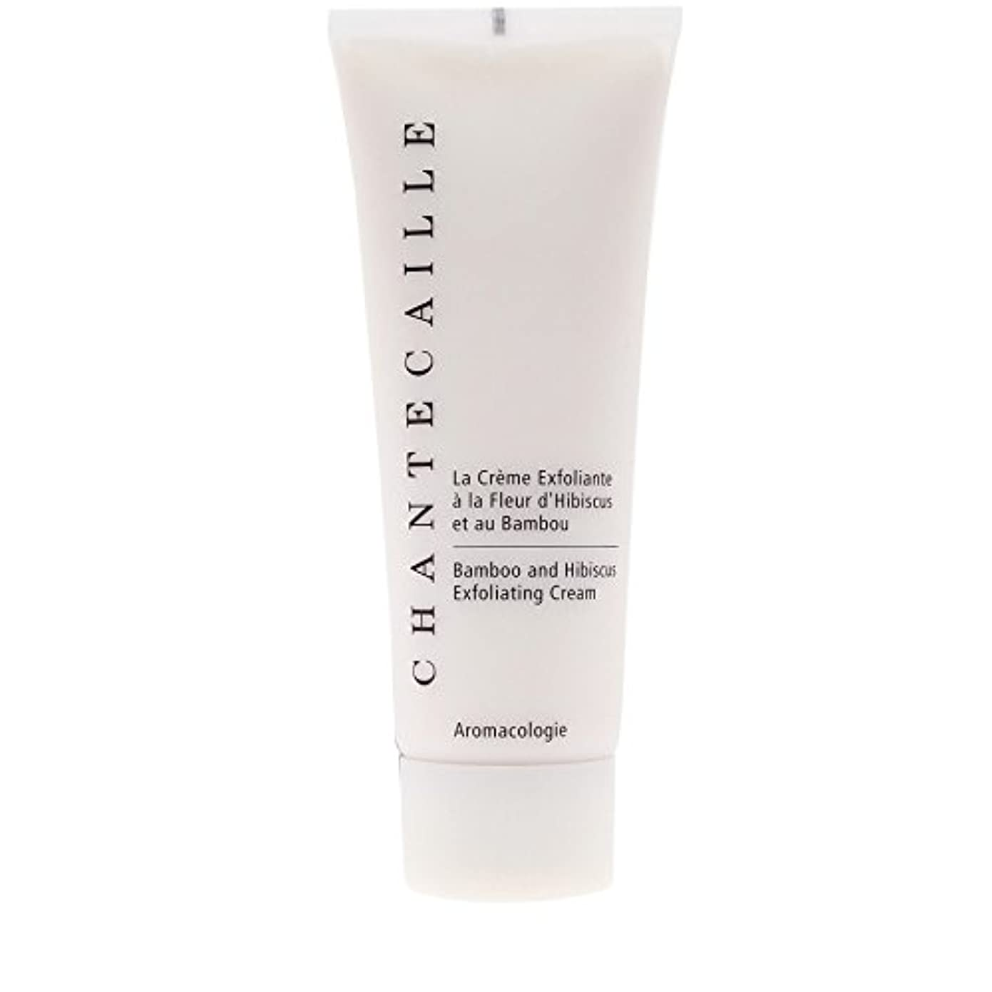 Chantecaille Bamboo and Hibiscus Exfoliating Cream 75ml (Pack of 6) - シャンテカイユ竹とハイビスカス角質除去クリーム75ミリリットル x6 [並行輸入品]