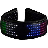 LIOOBO LED Shoe Clip Night Running Shoe Clip USB Charging Luminous Shoe Clip Light for Runner Jogger Biker Walker