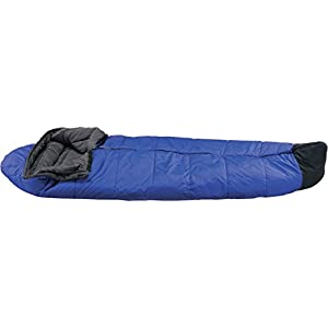 イスカ(ISUKA) 寝袋 スノートレック 1300 ロイヤルブルー [最低使用温度-10度]