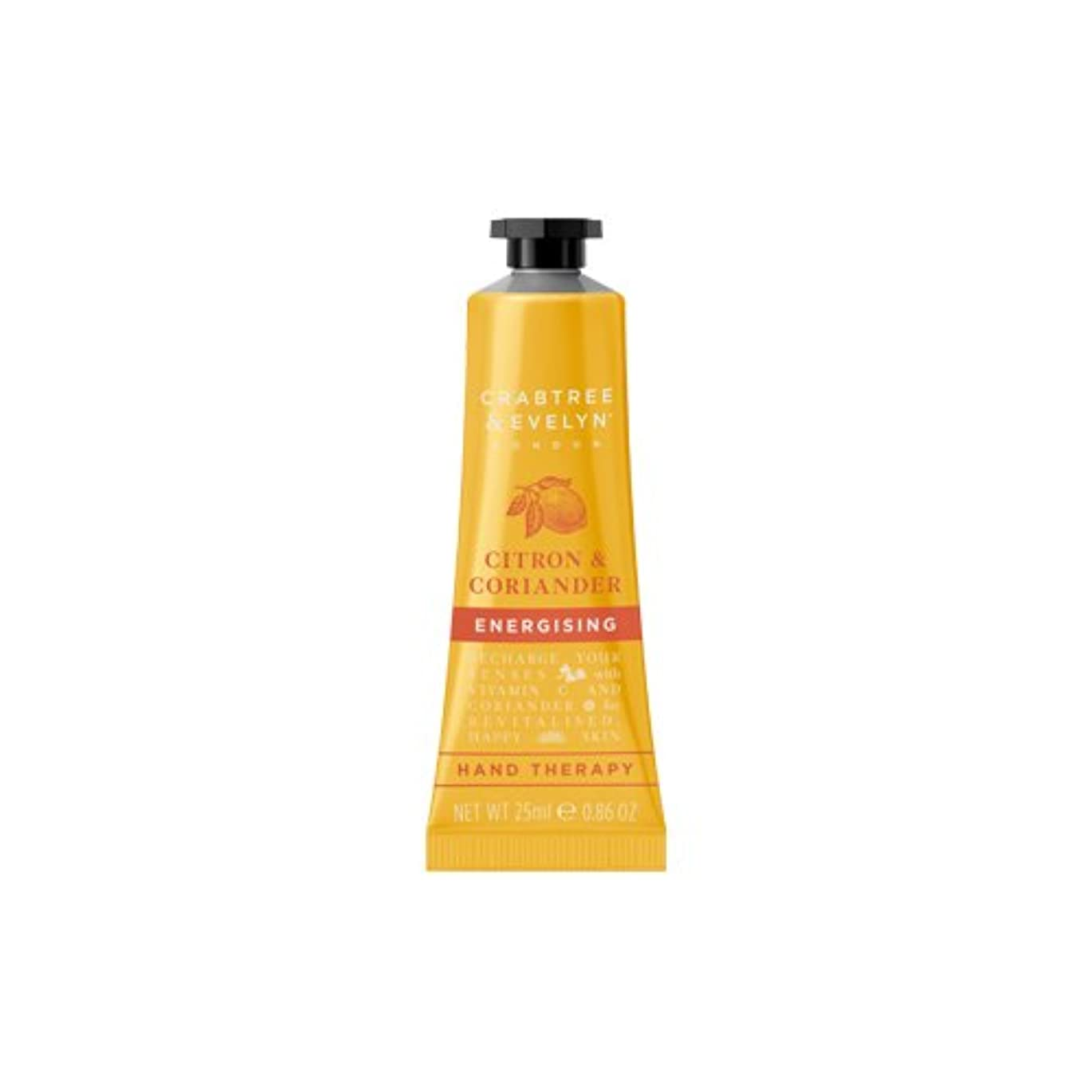 クラブツリー&イヴリン Citron & Coriander Energising Hand Therapy 25ml/0.86oz並行輸入品