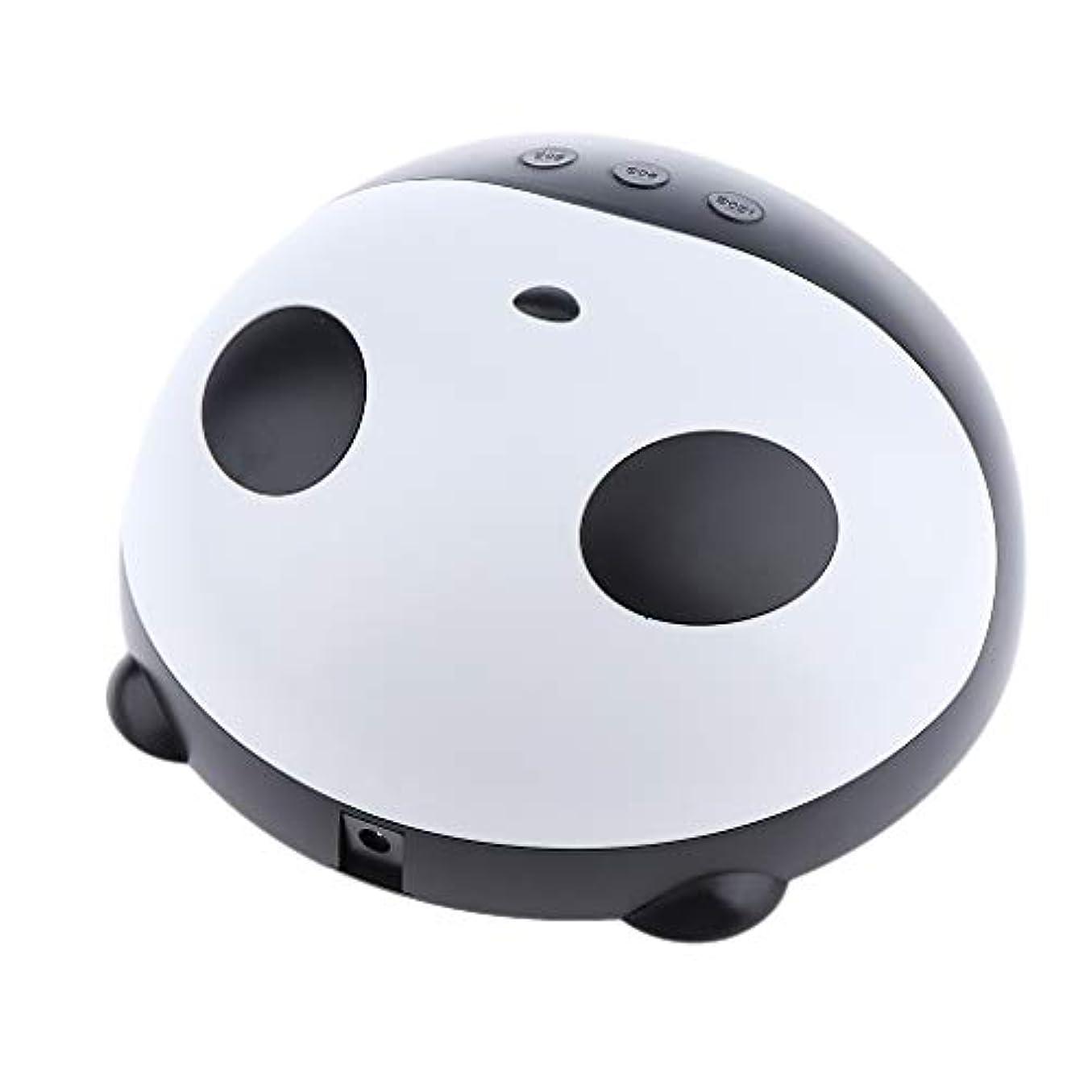 崇拝します繊毛ペチュランスToygogo 36Wパンダ形状美容ネイルサロンLED UVネイルドライヤー硬化ランプ用ネイルジェルベースポリッシュ乾燥USB