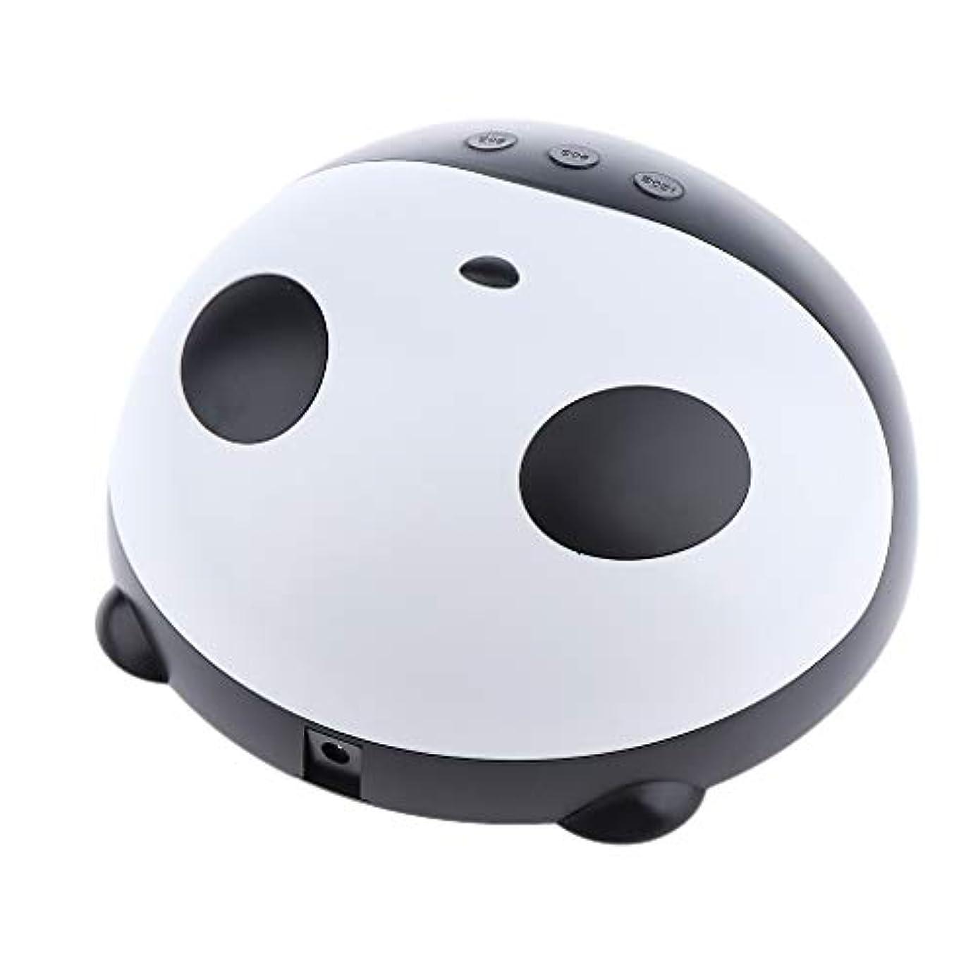 のヒープ邪悪なアートToygogo 36Wパンダ形状美容ネイルサロンLED UVネイルドライヤー硬化ランプ用ネイルジェルベースポリッシュ乾燥USB