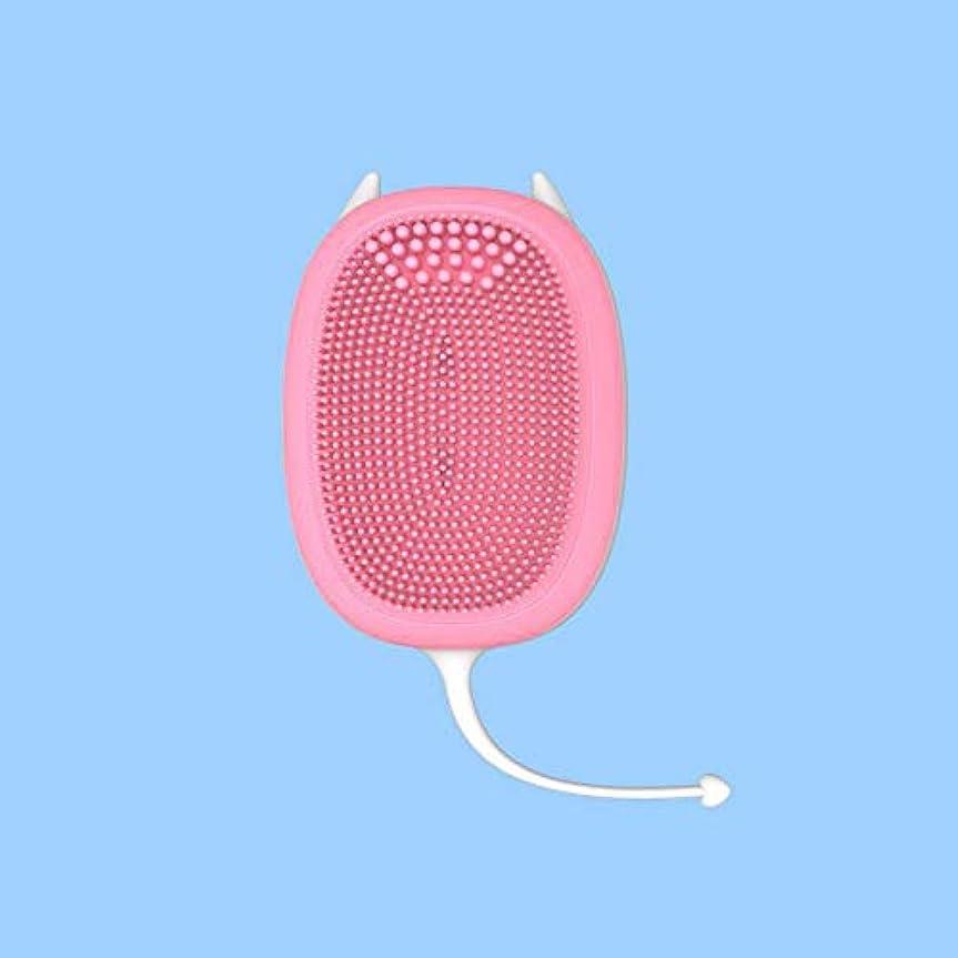 エリート友情効能あるZXF にきびをきれいにする小型電気シリコーンの清潔になる器械のマッサージの器械 滑らかである (Size : M)