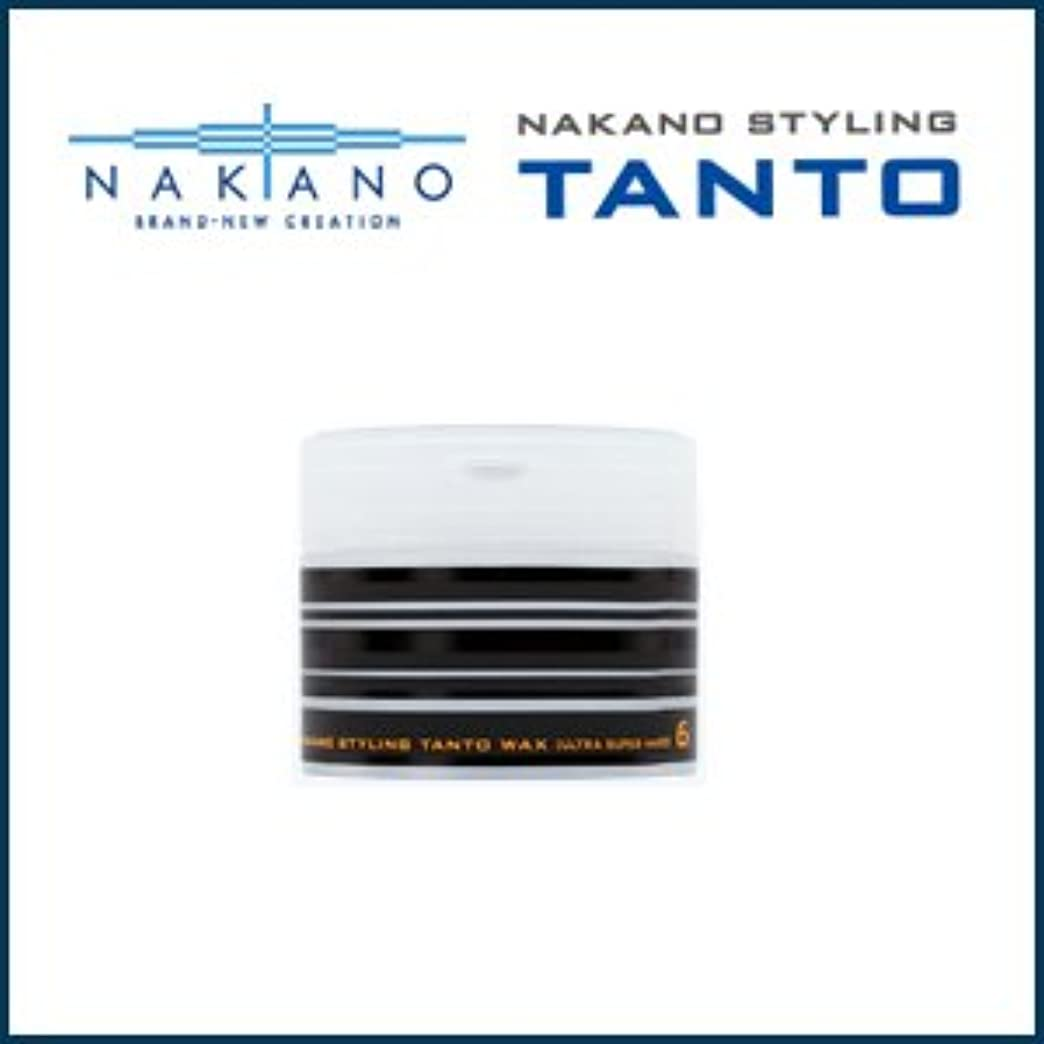 はがき返還いくつかの【X3個セット】 ナカノ タント Nワックス 6 ウルトラスーパーハード 90g 容器入り