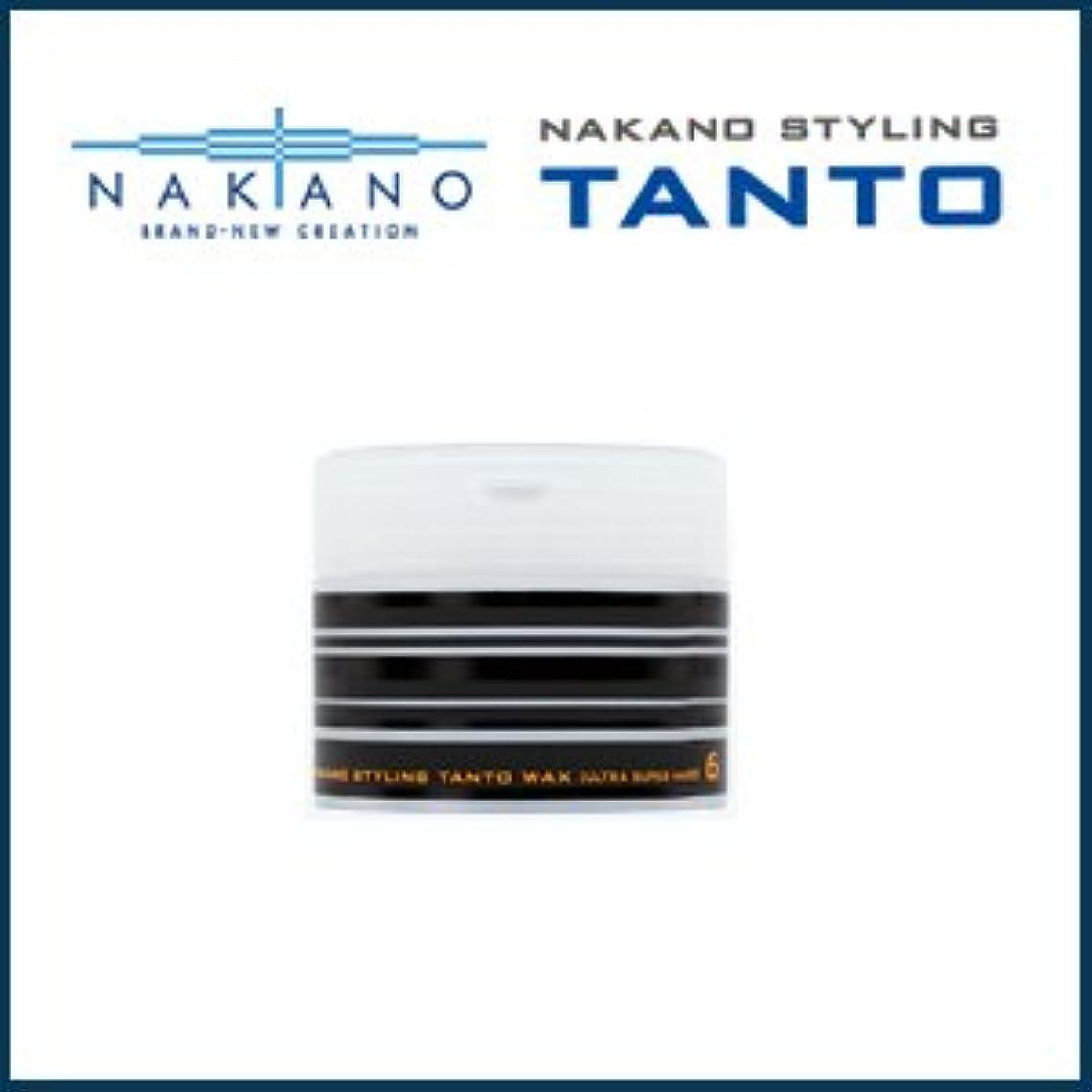 有名人経営者透過性【X4個セット】 ナカノ タント Nワックス 6 ウルトラスーパーハード 90g 容器入り