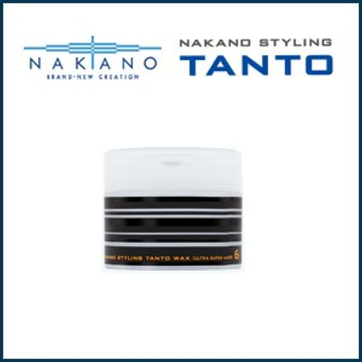 締めるモンキー吸収する【X3個セット】 ナカノ タント Nワックス 6 ウルトラスーパーハード 90g 容器入り