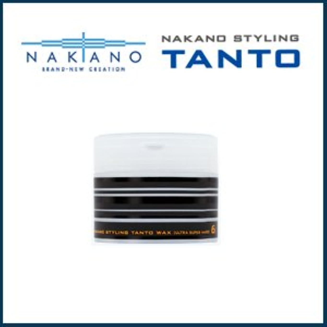 不均一フロント扱う【X3個セット】 ナカノ タント Nワックス 6 ウルトラスーパーハード 90g 容器入り