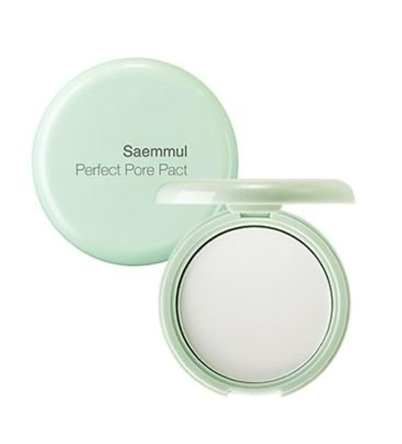 にやにや鮫ヘッドレスザセム[The Saem]センムルセンムルポアパーフェクトパクト The Saem Saemmul Perfect Pore Pact