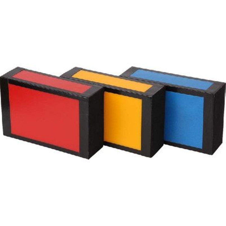 ビアード プラスティック シガーボックス A-18992 色:黄