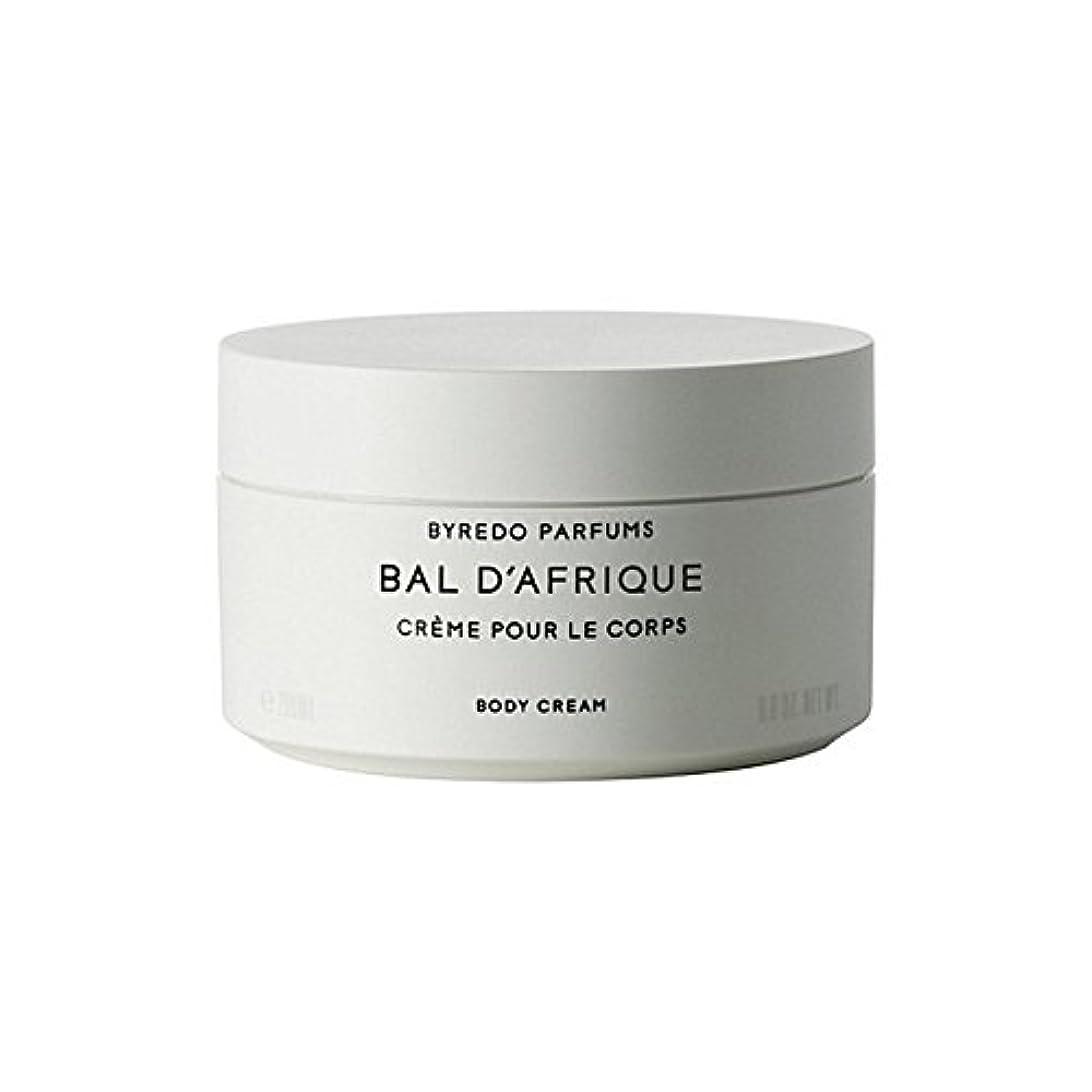 のボディクリーム200ミリリットル x4 - Byredo Bal D'Afrique Body Cream 200ml (Pack of 4) [並行輸入品]