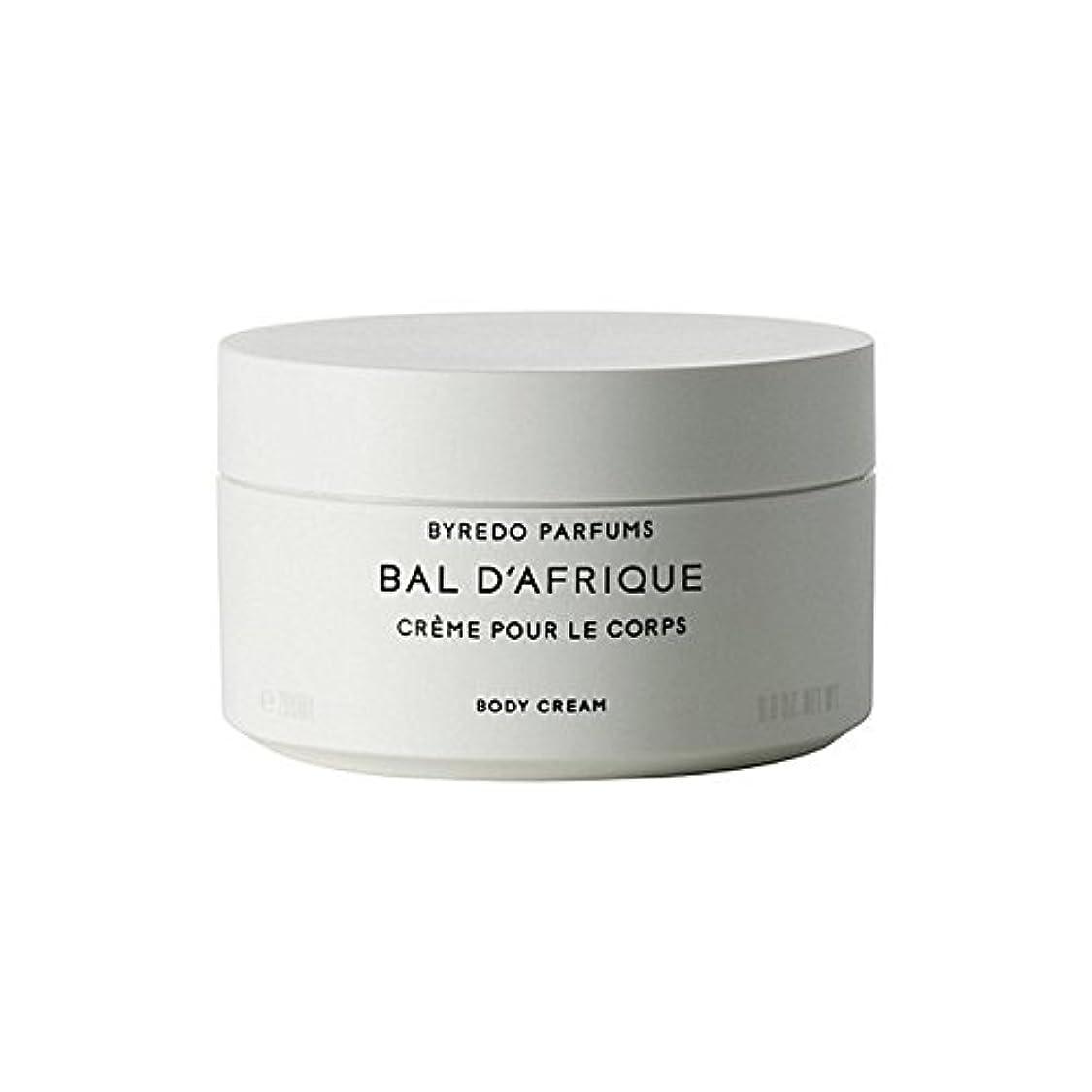 司書部分床を掃除する'のボディクリーム200ミリリットル x2 - Byredo Bal D'Afrique Body Cream 200ml (Pack of 2) [並行輸入品]